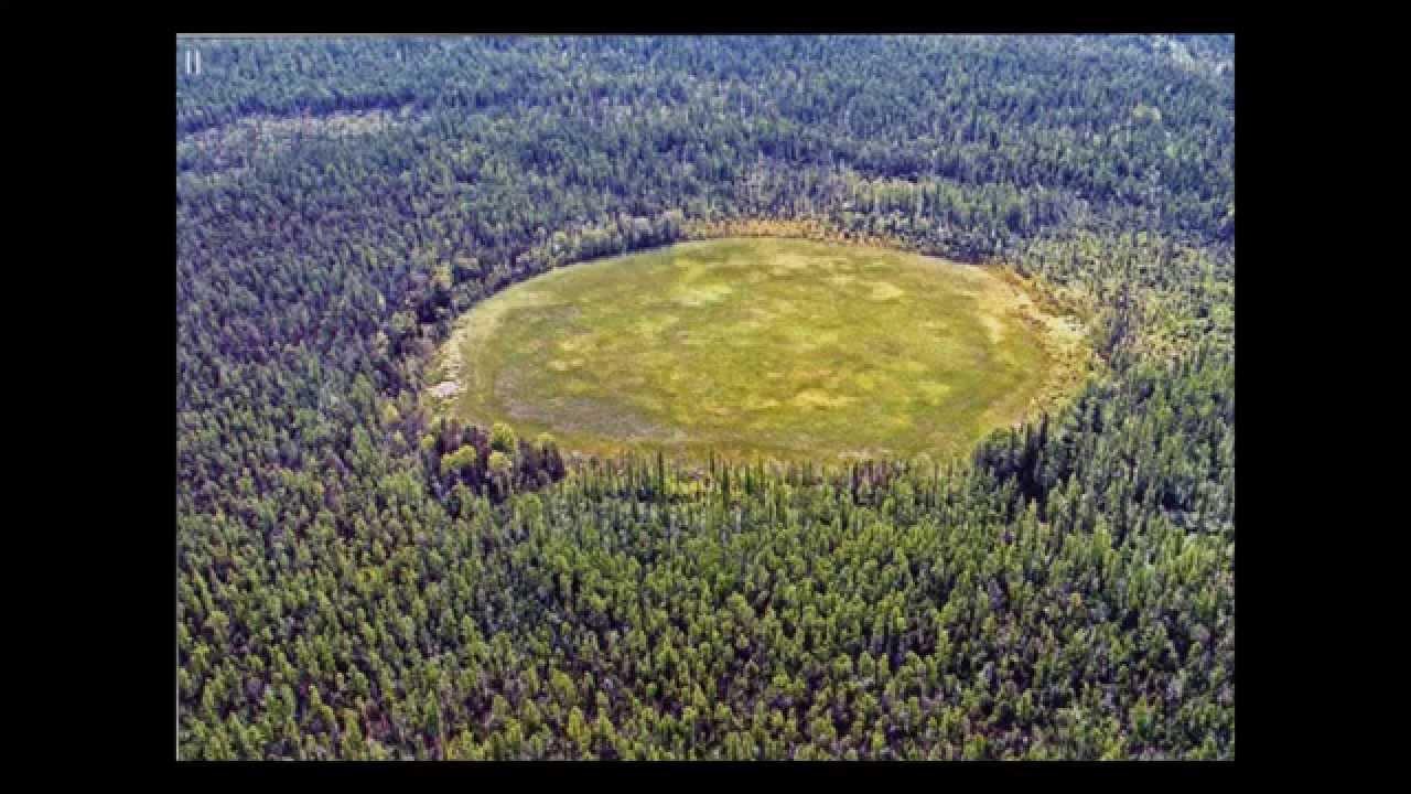 Un cilindru extraterestru uriaş descoperit de ruşi în craterul Patomskiy
