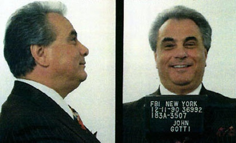 John  Gotti. FBI website, sursa foto Wikipedia.