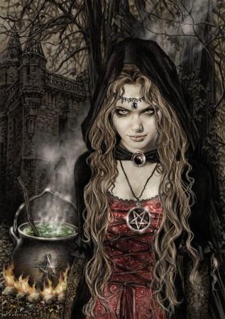 Vrăjitoarea Morgana, maestra magiei negre