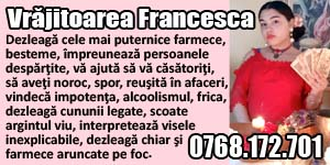 Banner 300x150 Vrajitoarea Francesca