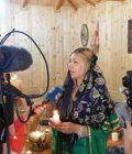 Tămăduitoarea Sunita a dat un interviu jurnaliştilor de la Nova TV Bulgaria