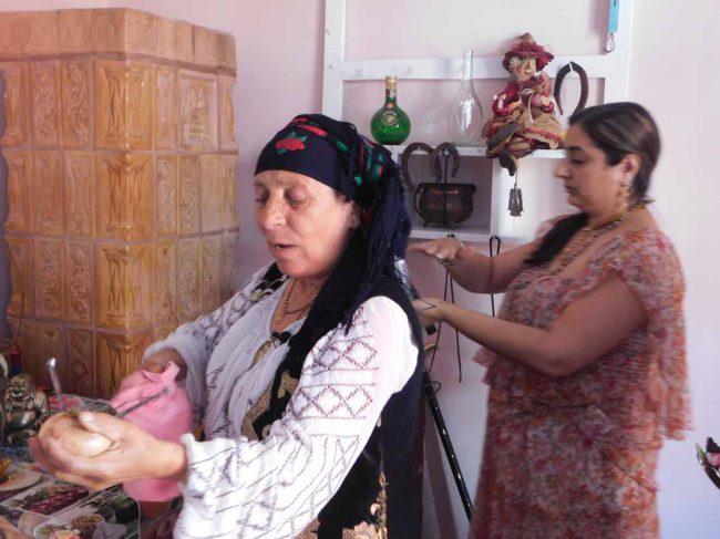 Vrajitoarea Brățara ritual
