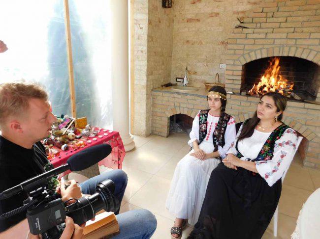 tamaduitoarea Natalia in interviu cu rusii