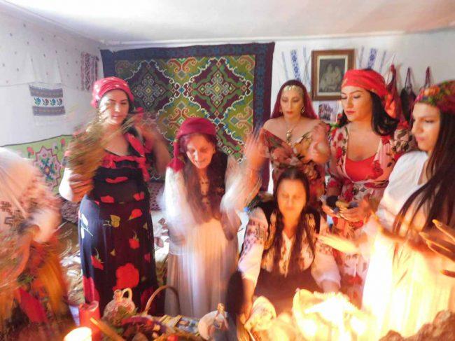 vrajitoare in ritual