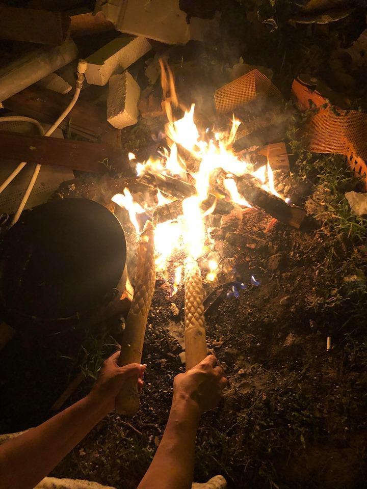 vrajitoarea Lucia ritual