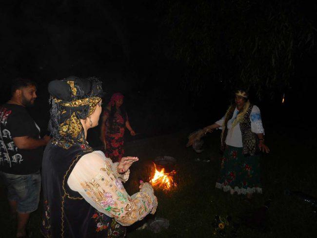 vrajitoarea Morgana la ritual de noapte 1