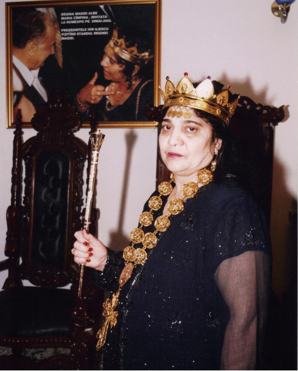 Mulţumiri recente din America pentru Regina Magiei Albe din România, Maria Câmpina