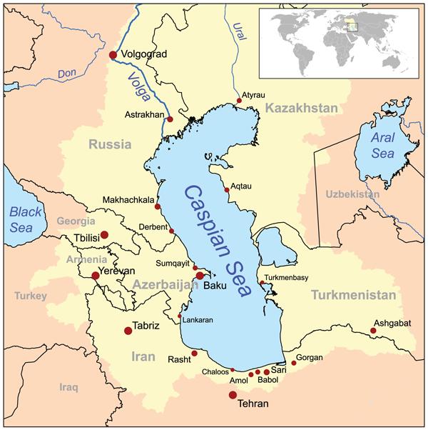Fiinţe umanoide marine în Marea Caspică