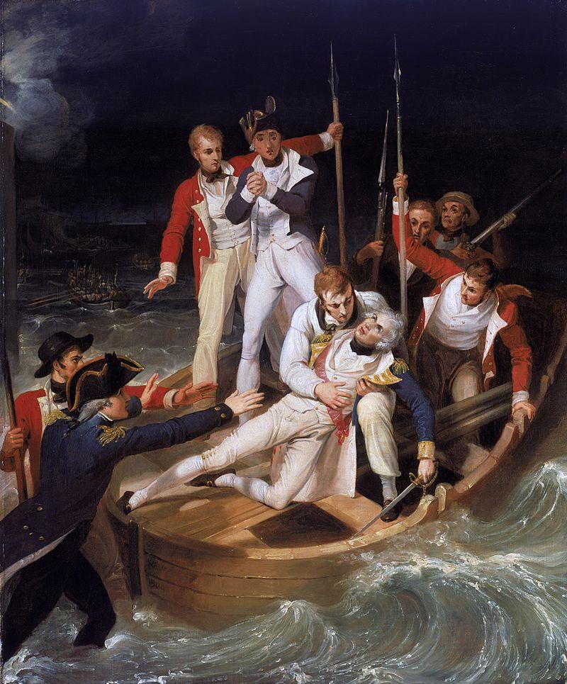 Moartea eroică a lordului Nelson