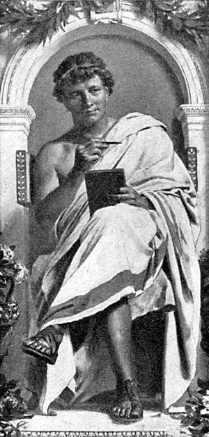 Publius Ovidius Naso despre naufragiat