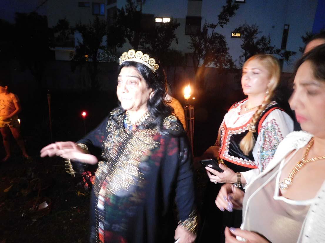 Regina magiei albe din România, Maria Câmpina, a făcut un ritual de noapte de sacrificiu pentru televiziunea din Moscova