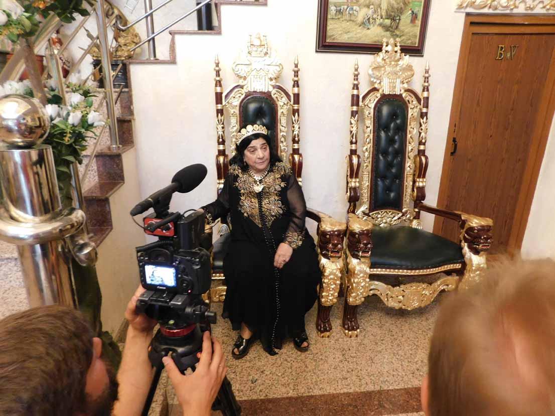 Regina magiei albe, Maria Câmpina, a reușit să-i impresioneze pe jurnaliștii de la tv Moscova