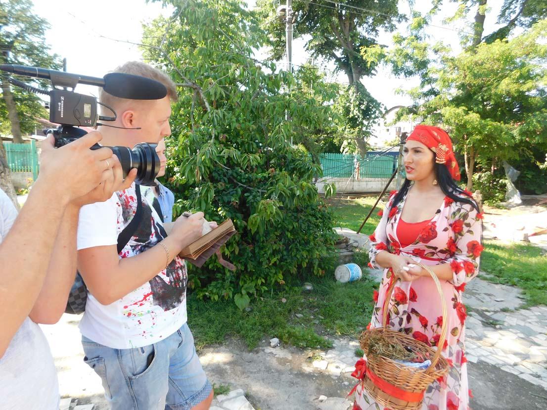 Tămăduitoarea Ioana Lorena a filmat recent cu televiziunea din Moscova