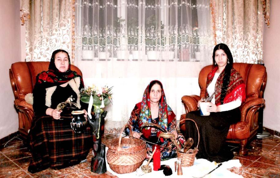 Repartizarea teritorială a vrăjitoarelor în România